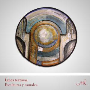 Colección esculturas y murales. Texturas